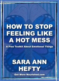 Get Started in Emotional Fitness >> How To Stop Feeling Like A Hot Mess Toolkit {free!}